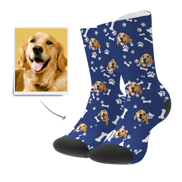 Custom Pet Face Socks - MyPhotoBags