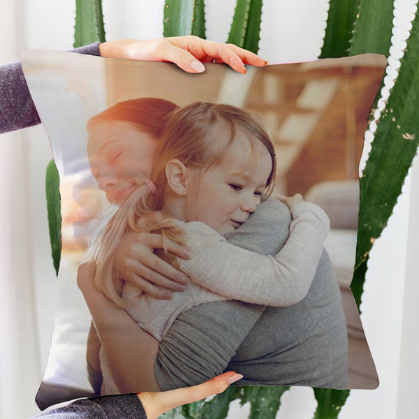 Custom Photo Throw Pillow Personalised Pillow Mother's Day Gift