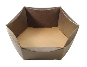 Couro small hexagonal hamper (x25)