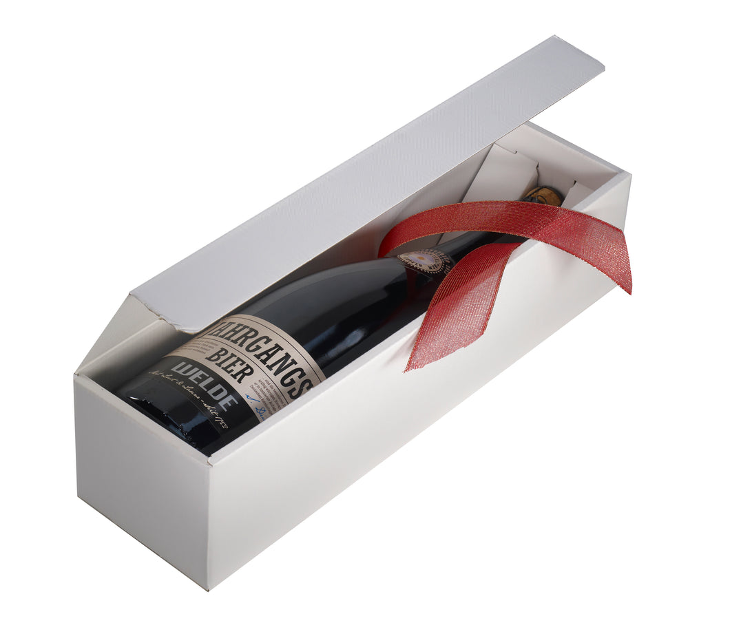 Scala gift box for 1 magnum bottle in white (x50)