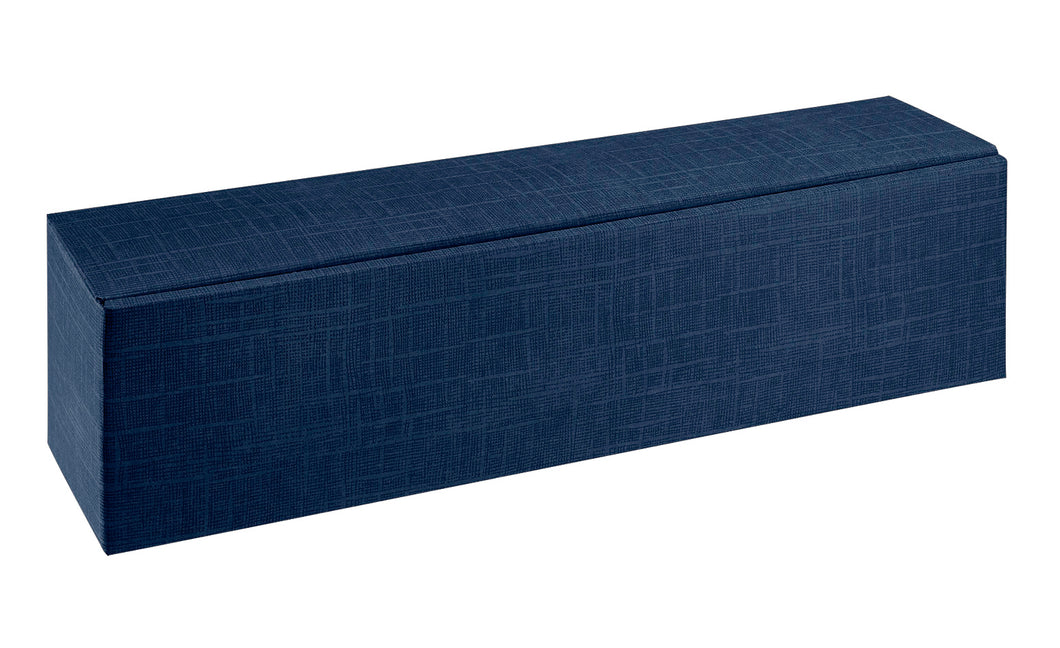 Scala bedded gift box for 1 bottle in dark blue (x50)