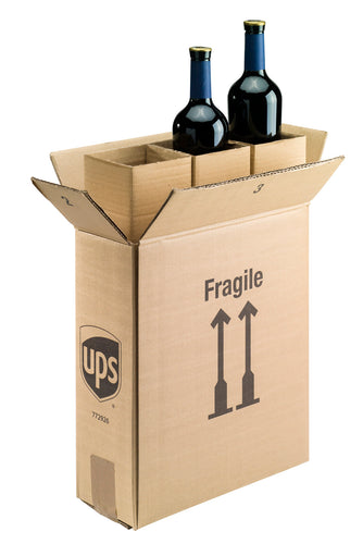 Transit packaging for 3 bottles (x30)