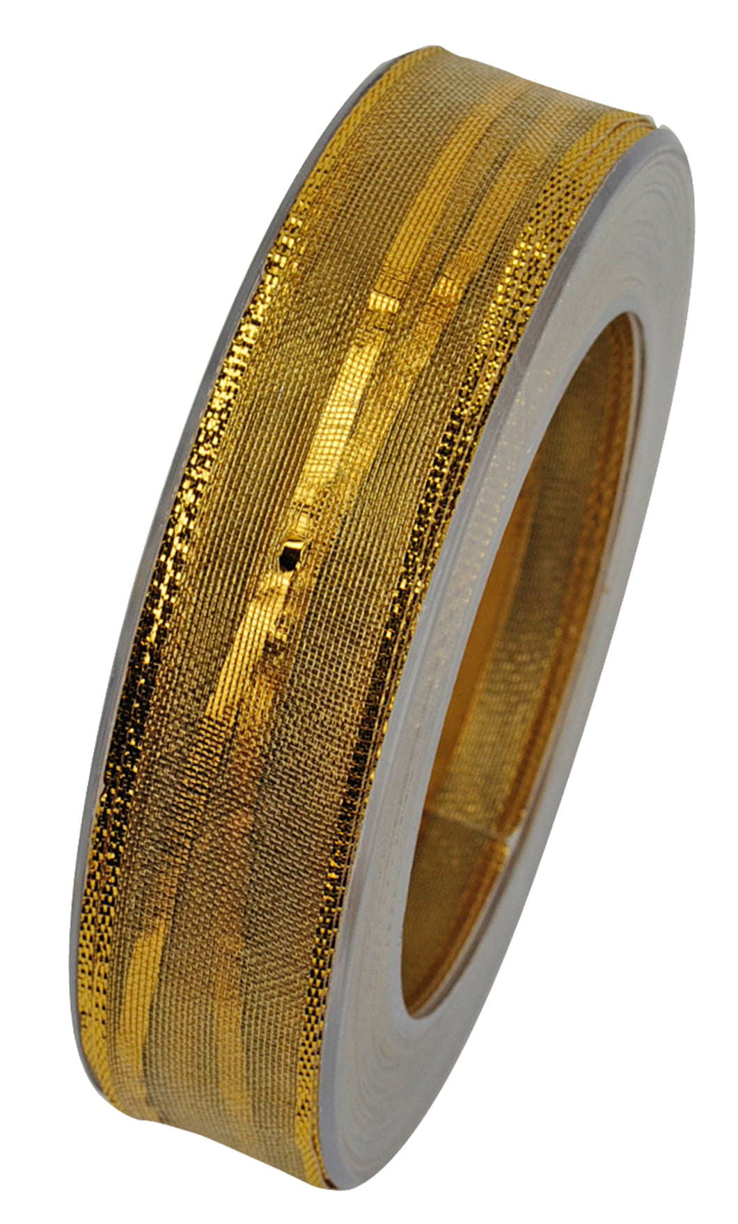 Cabaret-Susifix ribbon in gold, 25m (x2)