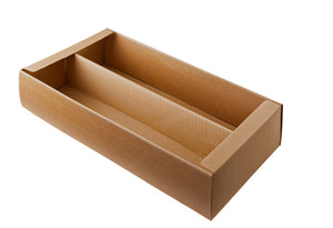 Bodo gift box base for 2 bottles in beige (x25)