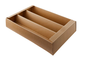 Bodo gift box base for 3 bottles in beige (x25)