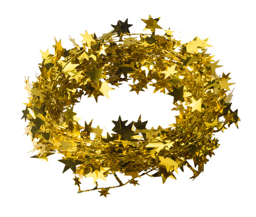 Starry circle in gold (x2)