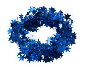 Starry circle in blue (x2)