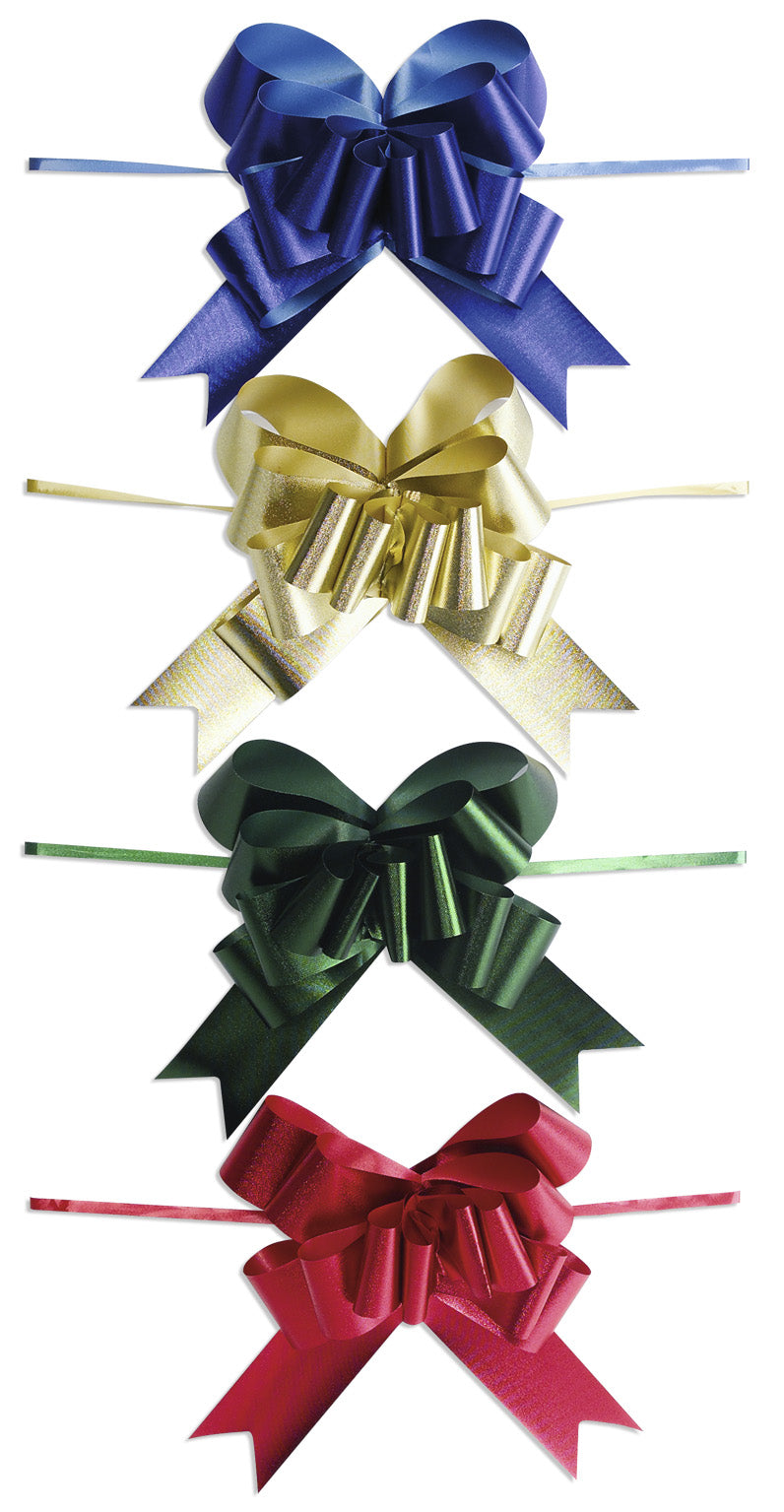 Large pull bow in green (x25)