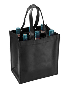 Smartbag for 6 bottles in black (x40)
