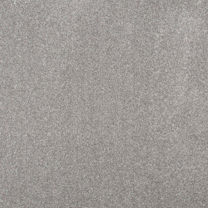 Light Grey Luxury Saxony Carpet - Far