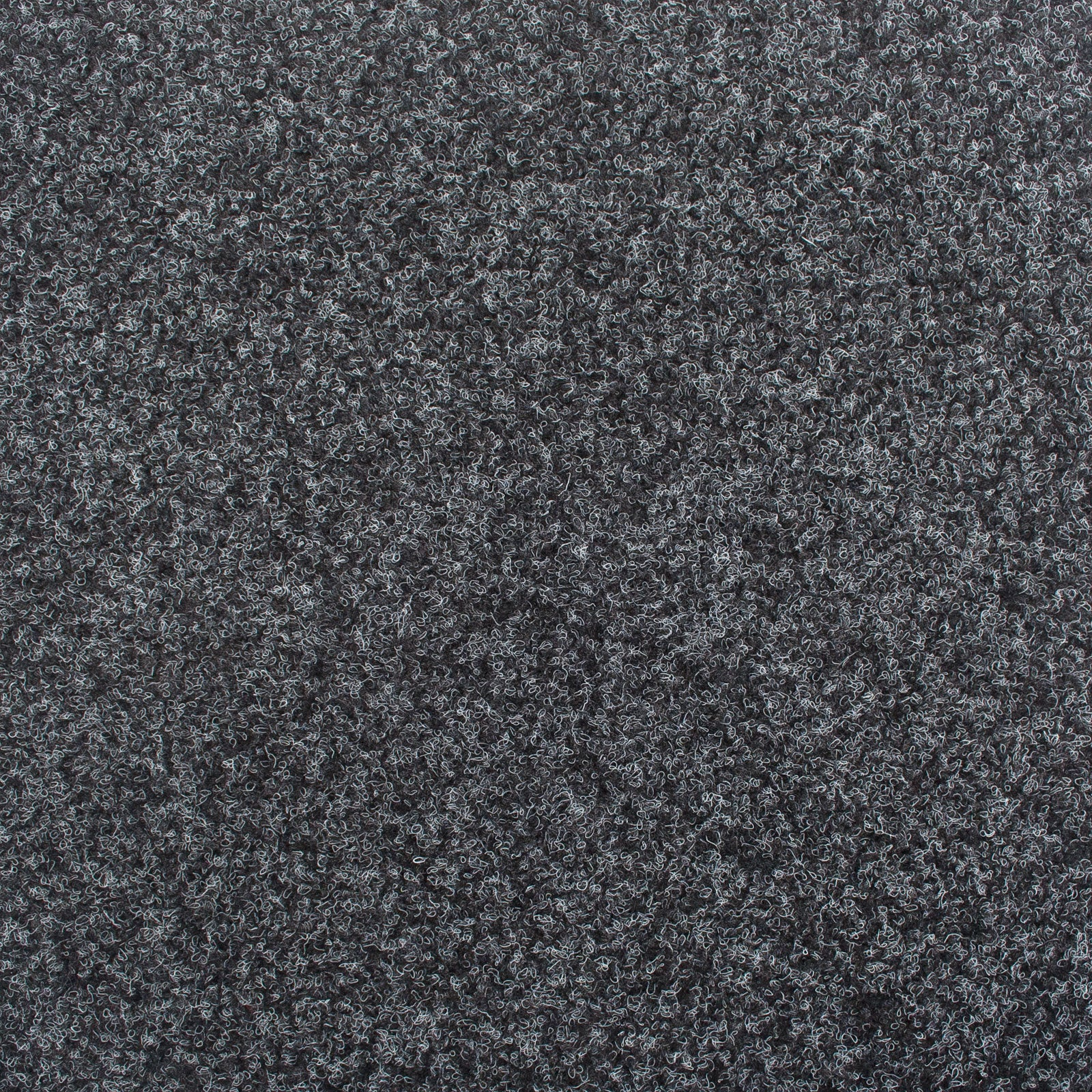 Anthracite Black Contract Velour Gel Back Carpet - Far