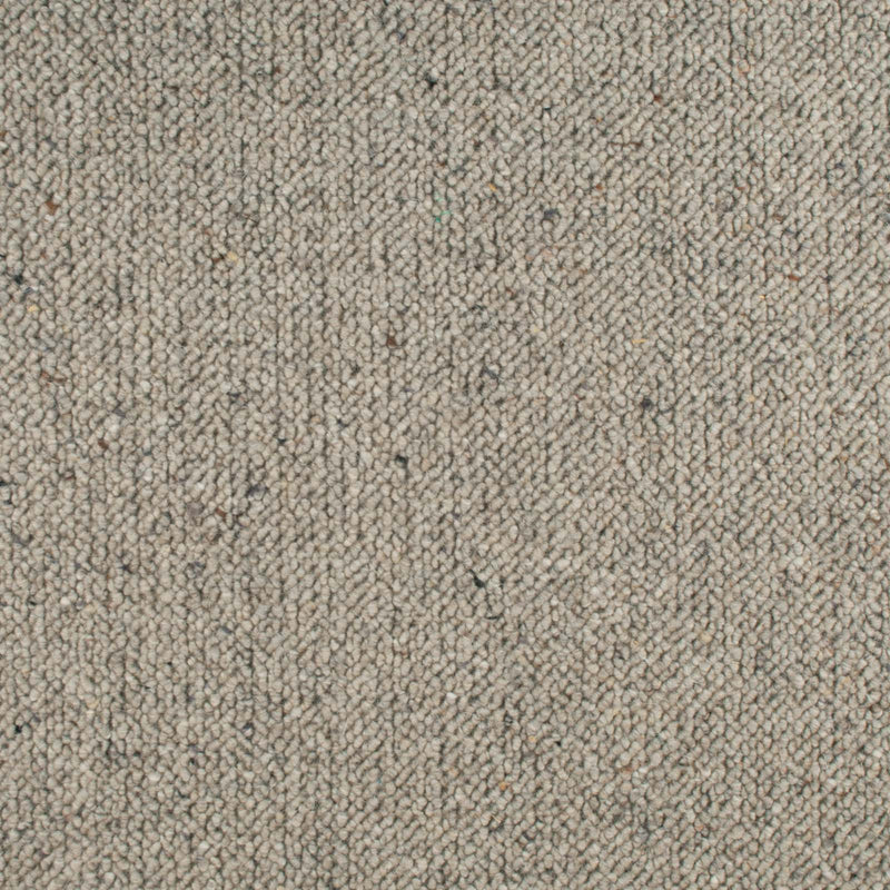 Ash Grey Corsa Berber Deluxe Wool Carpet - Far