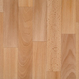 Beech Beige Yellow Authentic 261 Wood Vinyl Flooring - Far