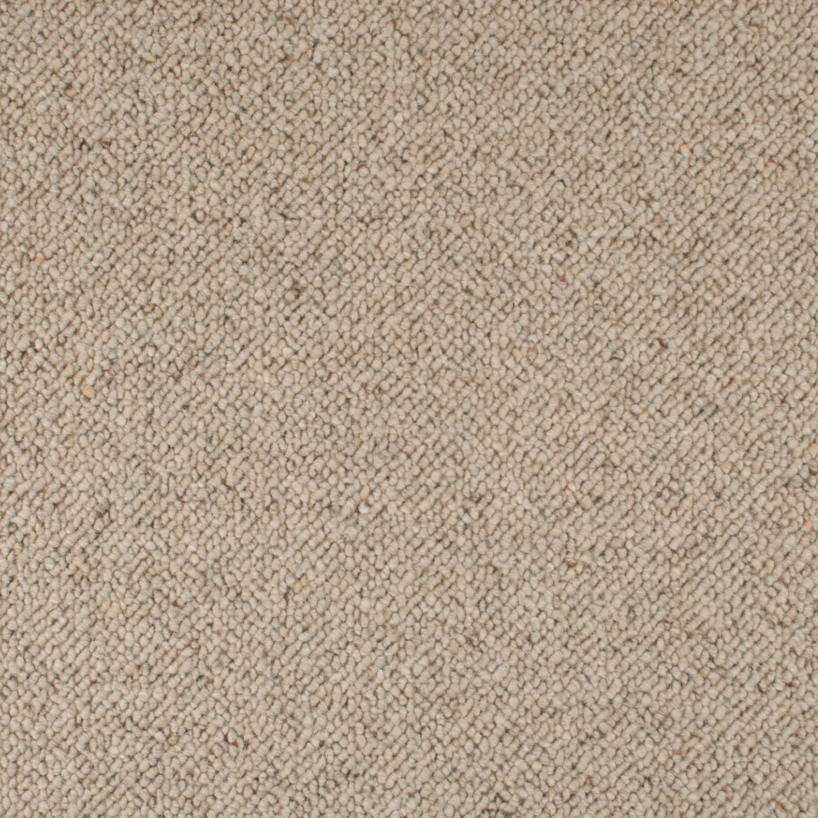 Beige Corsa Berber Deluxe Wool Carpet - Far