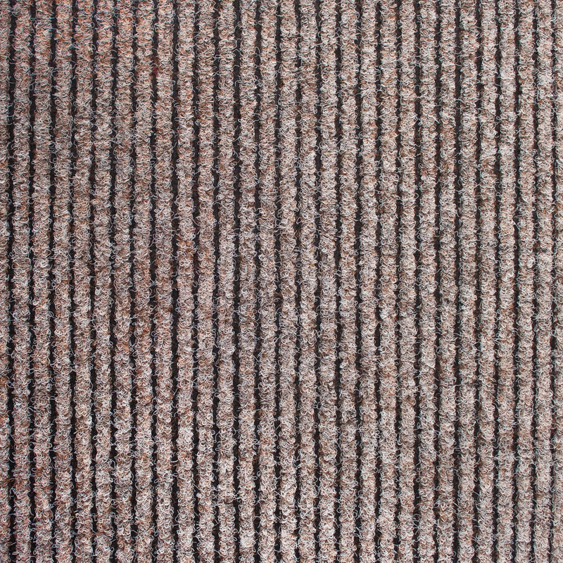 Beige Heavy Duty Entrance Matting Loop Carpet - Far