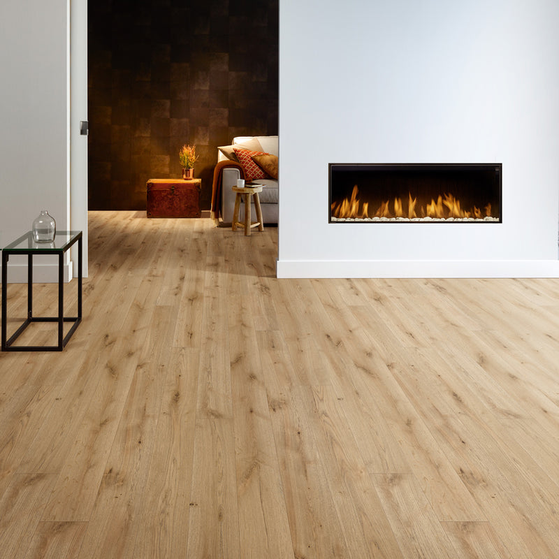 Bellefosse Oak 084 Grande Narrow Balterio Laminate Flooring - Lifestyle