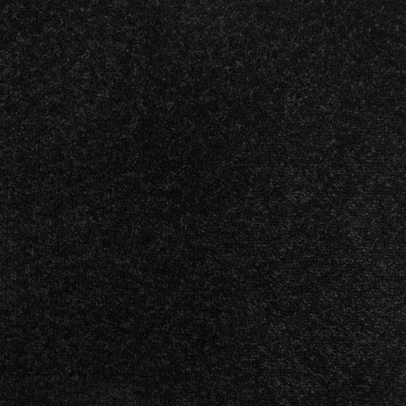 Black Felt Back Twist Carpet - Far
