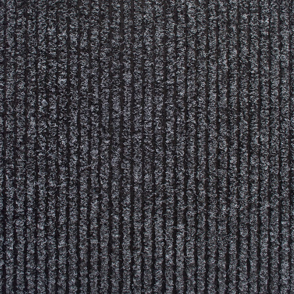 Black Heavy Duty Entrance Matting Loop Carpet - Far