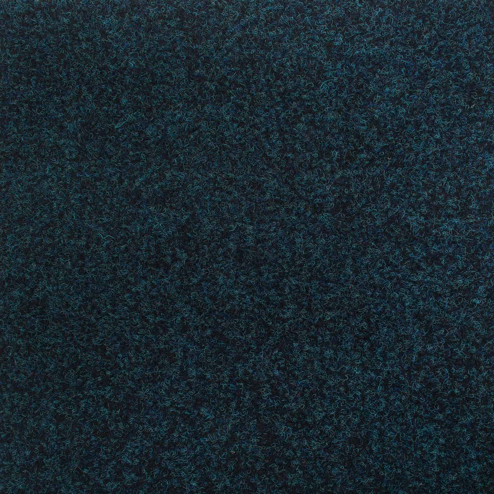 Blue Contract Velour Gel Back Carpet - Far