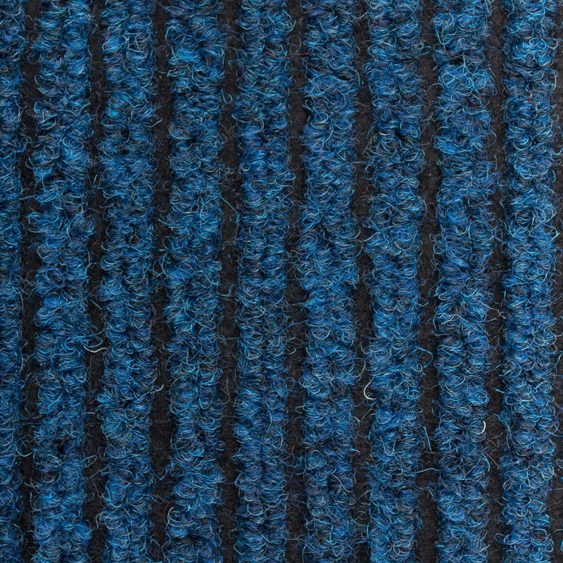 Blue Heavy Duty Entrance Matting Loop Carpet - Close