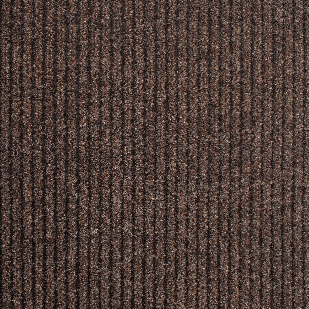 Brown Heavy Duty Entrance Matting Loop Carpet - Far