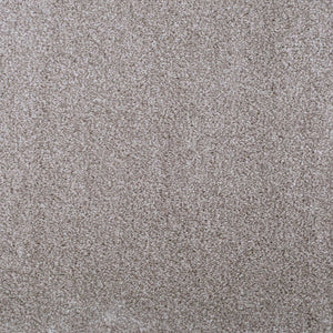Cream & Dark Beige Supreme Felt Back Saxony Carpet - Far