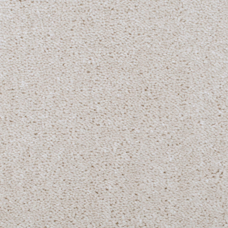 Cream Beige Supreme Saxony Carpet - Close