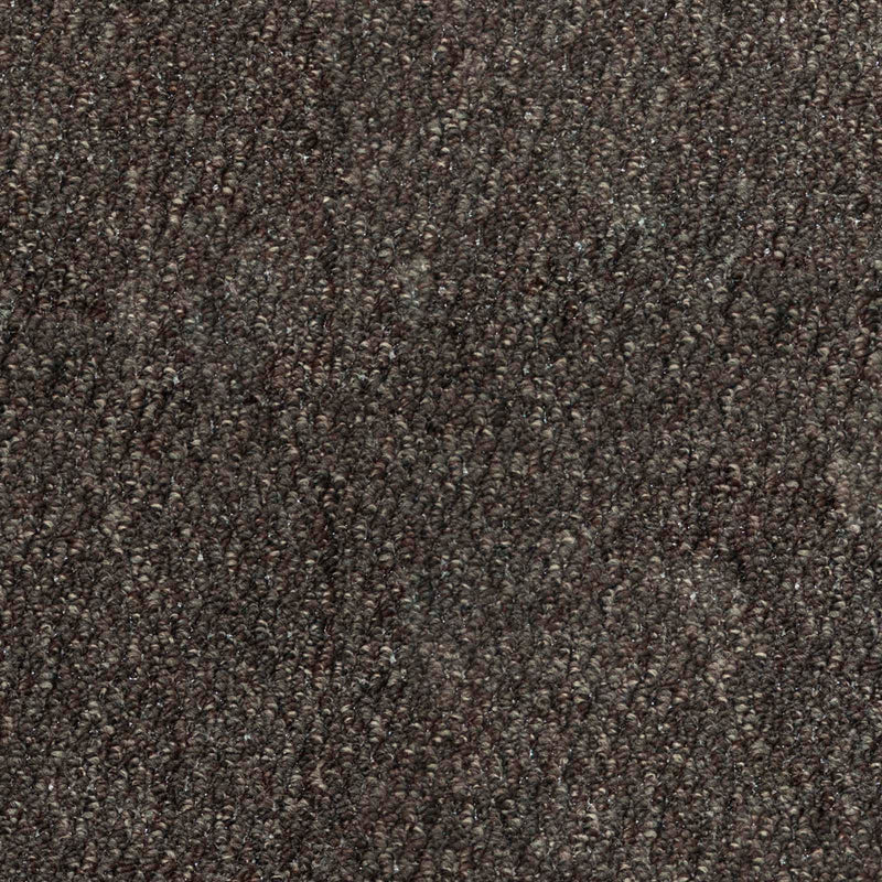 Dark Brown Port Loop Carpet - Close