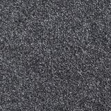 Dark Grey Supreme Action Back Saxony Carpet - Close