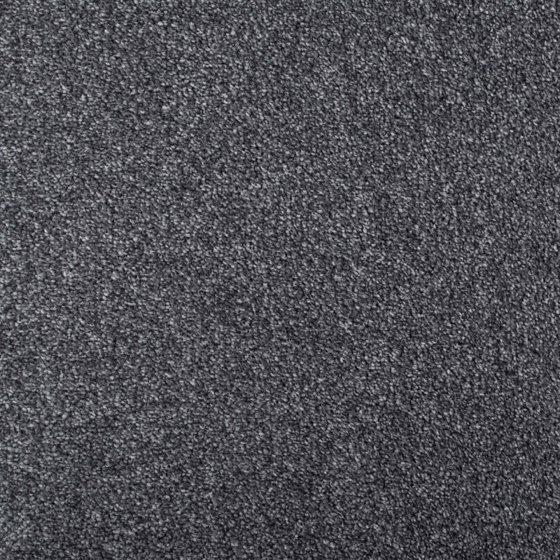 Dark Grey Supreme Action Back Saxony Carpet - Far