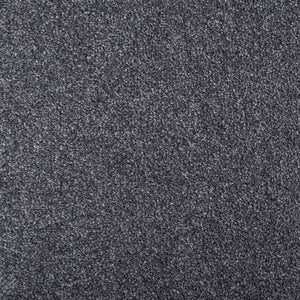 Dark Grey Supreme Felt Back Saxony Carpet - Far