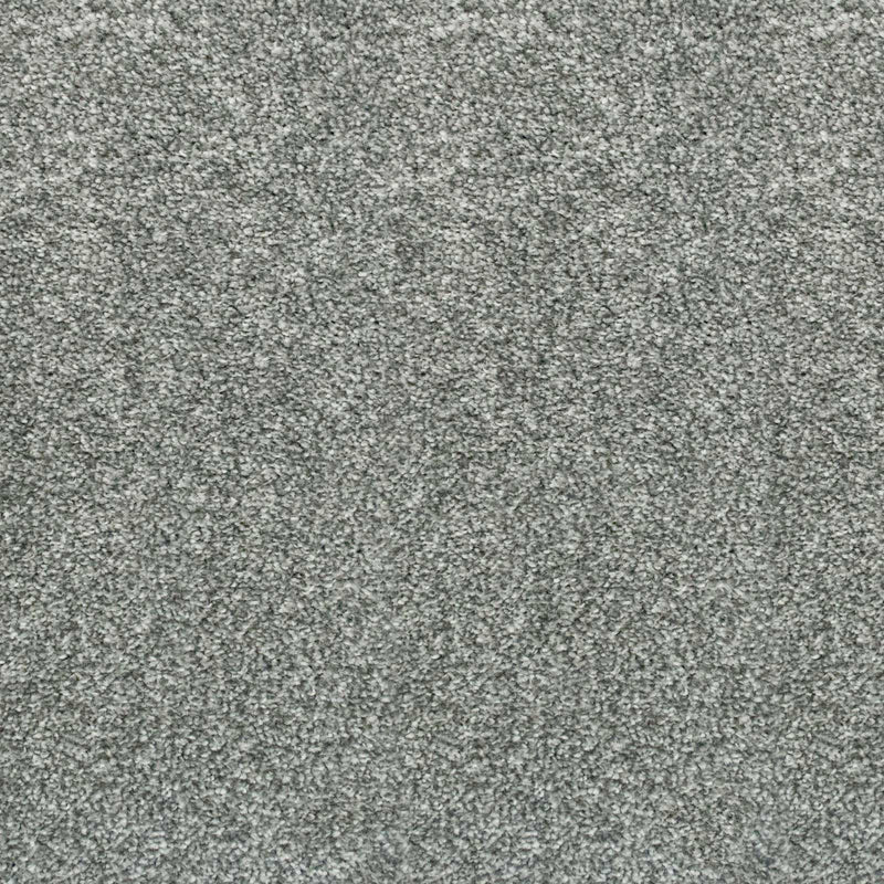 Granite Grey Supreme Action Back Saxony Carpet - Far