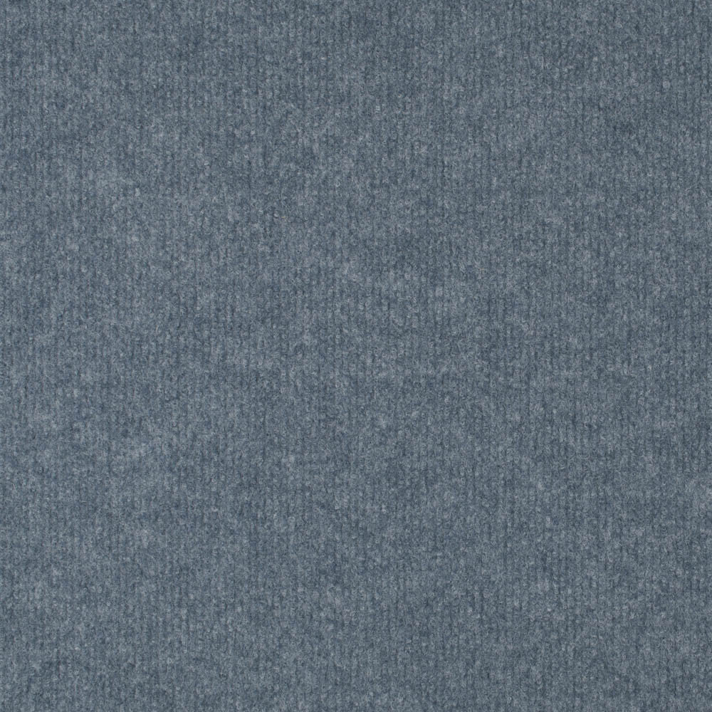 Light Blue Budget Cord Carpet - Far