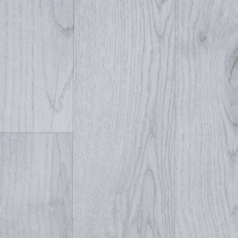 Light Grey Wood Style Vinyl Flooring - Close