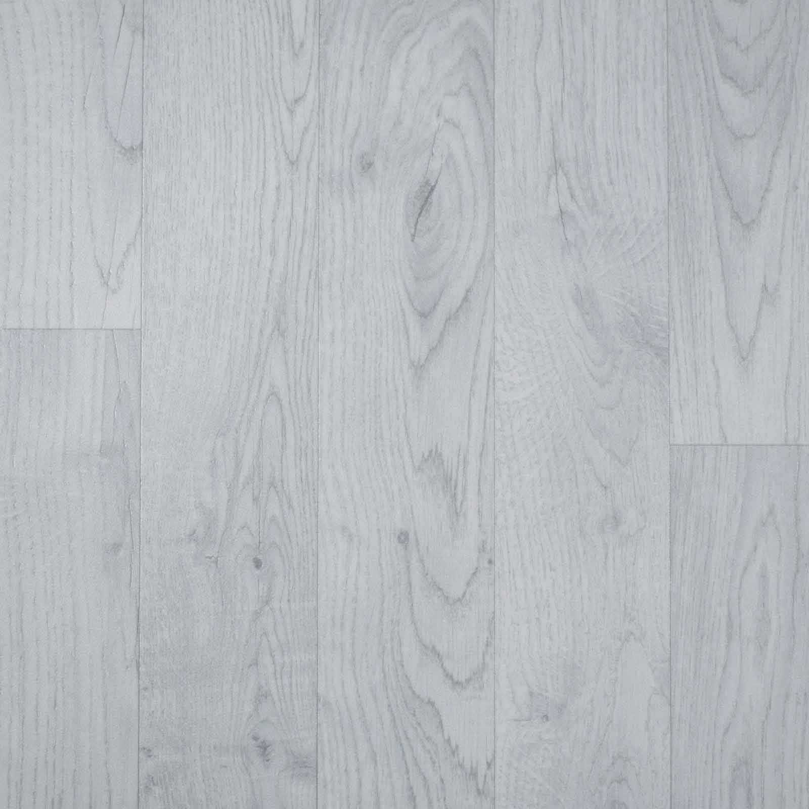 Light Grey Wood Style Vinyl Flooring - Far