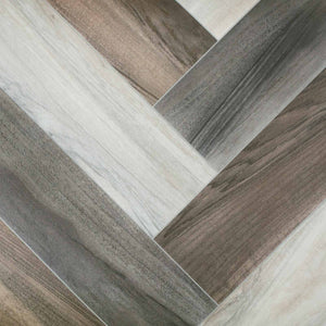 Light Modern Parquet Wood Style Vinyl Flooring - Far