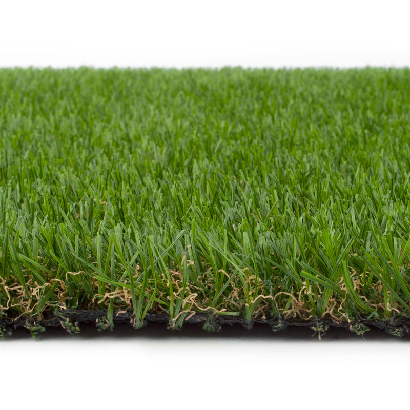 Lilac Artificial Grass - Side Detail