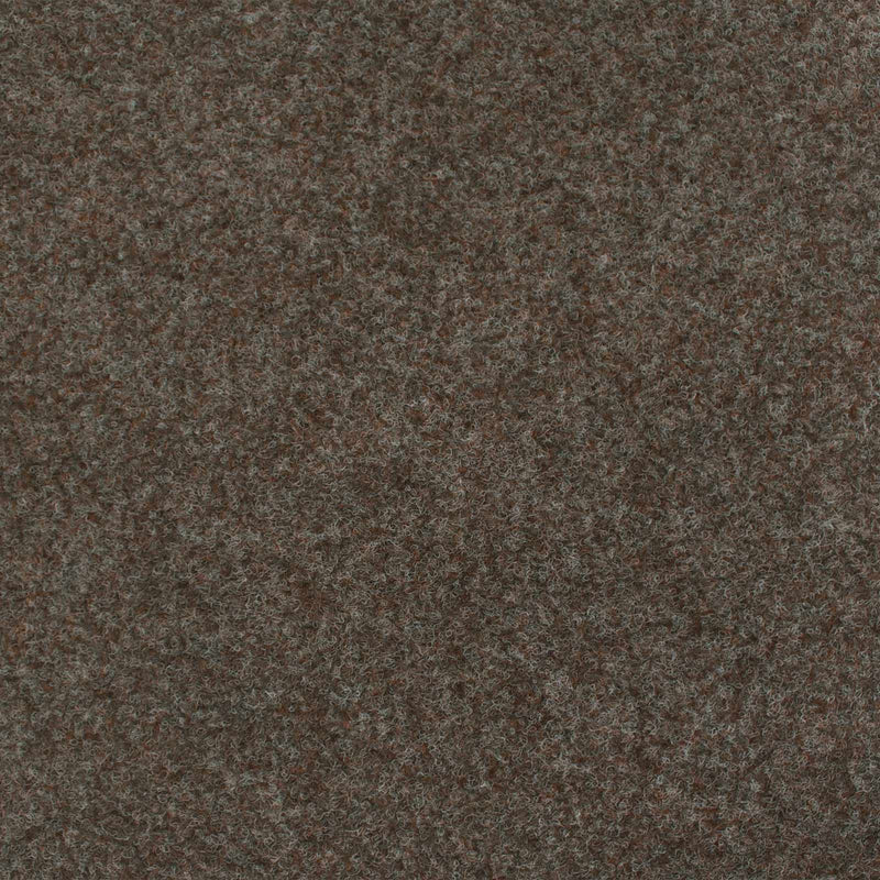 Mid Brown Contract Velour Gel Back Carpet - Far