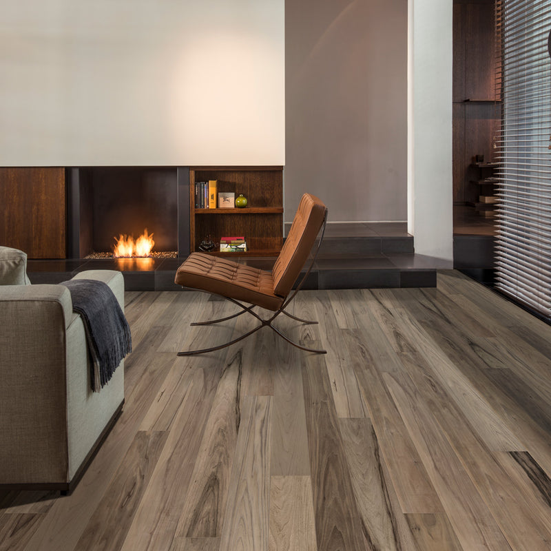Modern Walnut 089 Grande Narrow Balterio Laminate Flooring - Lifestyle