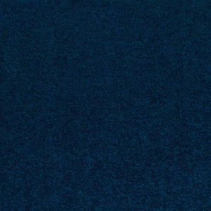 Navy Blue Felt Back Twist Carpet - Far