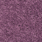 Purple Felt Back Twist Carpet - Close