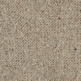 Raw Linen Corsa Berber Deluxe Wool Carpet - Close