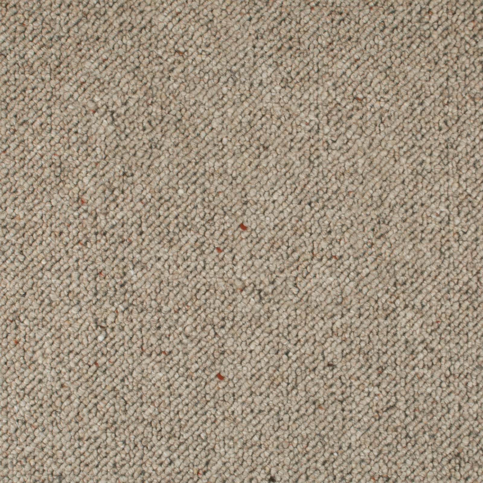 Raw Linen Corsa Berber Deluxe Wool Carpet - Far
