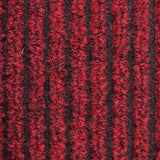 Red Heavy Duty Entrance Matting Loop Carpet - Close