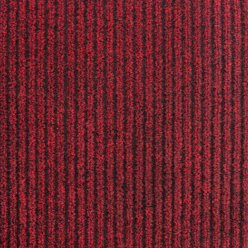 Red Heavy Duty Entrance Matting Loop Carpet - Far