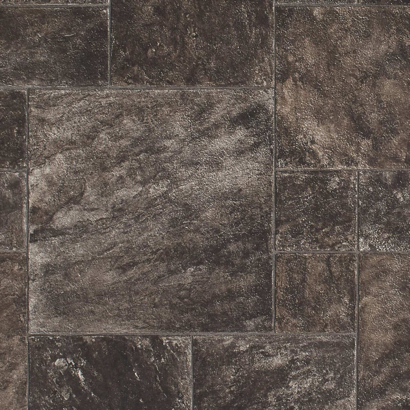 Santino 9158 Tile Effect Ravenna Vinyl Flooring - Close