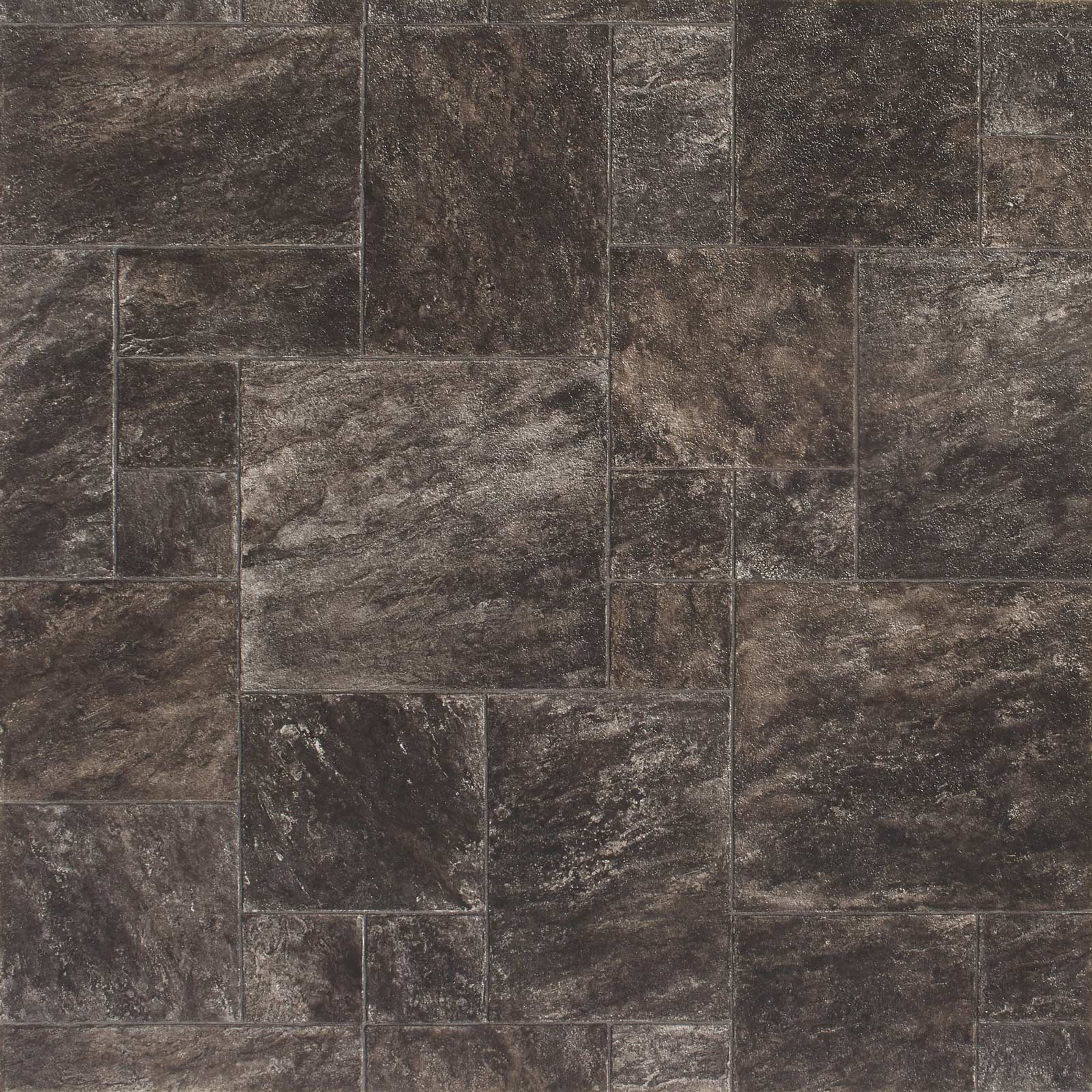 Santino 9158 Tile Effect Ravenna Vinyl Flooring - Far