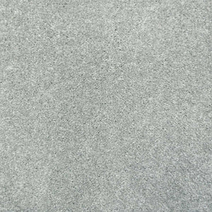 Silver Grey Supreme Felt Back Saxony Carpet - Far
