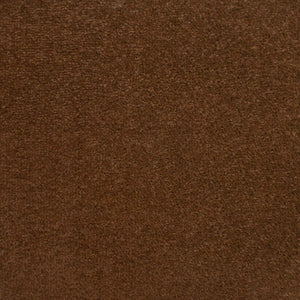 Walnut Brown Felt Back Twist Carpet - Far