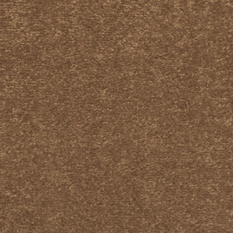 Walnut Brown Oxford Twist Carpet - Close